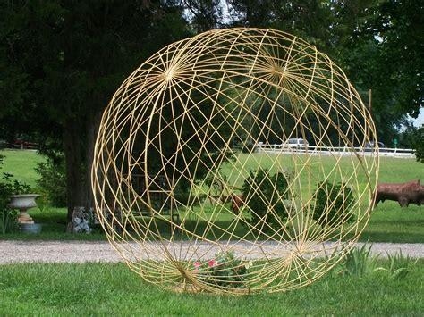 41 quot yard art garden ball trellis orb art