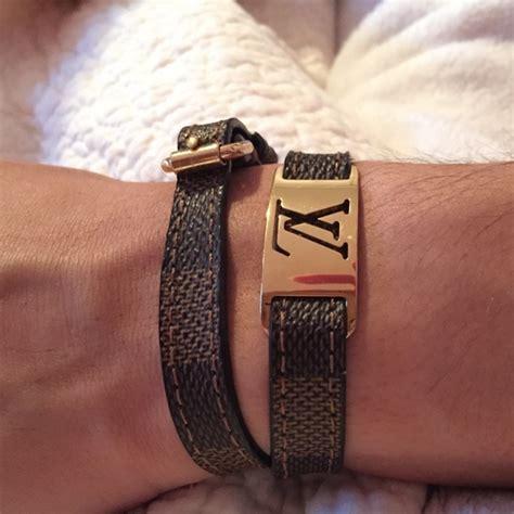 louis vuitton jewelry sold louis vuitton sign  bracelet  kaylas closet