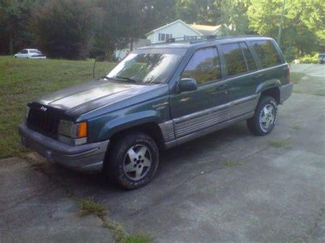 hunting jeep cherokee find used 1995 jeep grand cherokee 4x4 great hunting jeep
