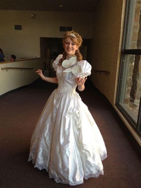 diy wedding dress costume diy giselle from enchanted costume old wedding dress from