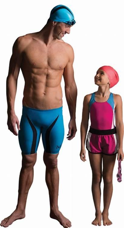 Phelps Swimming Michael Standing Torso Spas Master
