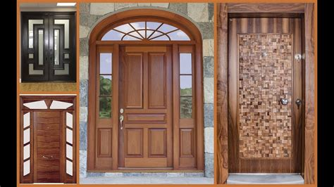 New Front Door And Frame by Top 50 Modern Wooden Door Designs For Home 2018 Plan