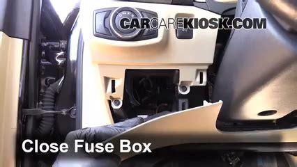 interior fuse box location   ford fusion