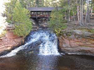 Amnicon Falls State Park in Superior Wisconsin