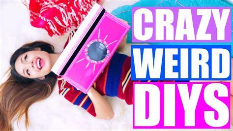 Crazy & Weird Diys You Need To Try!