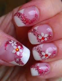 Light color spring nail art designs for entertainmentmesh