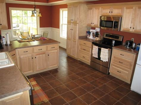 Have the Natural Maple Kitchen Cabinets for Your Home   My