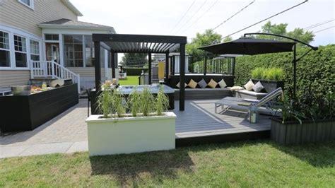 cuisine exterieur aménagement extérieur autour d 39 un spa lounge salon