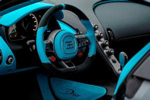 The centodieci will be built in an extremely limited edition. Bugatti Divo Interior Photos   CarBuzz