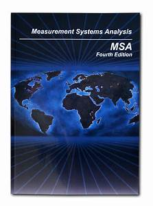 Aiag Measurement Systems Analysis Msa