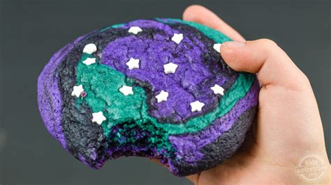 world galaxy sugar cookies