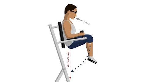Chair Leg Lifts Abs by Chair Leg Raise Abdominal Exercises
