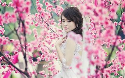 Asian Spring Garden Flowers Wallpapers 1080p Tapety