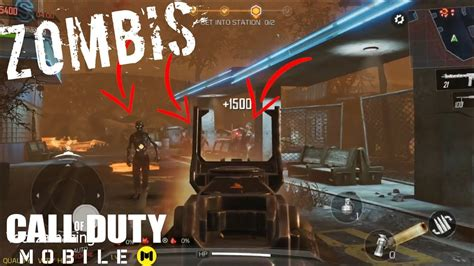 mobile call duty zombies gameplay