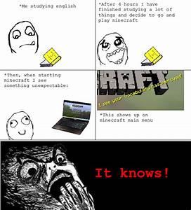 I am being watc... Stupid Minecraft Quotes