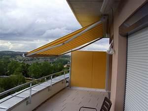 sicht windschutz c c design With markise balkon mit selbstklebende tapete für türen