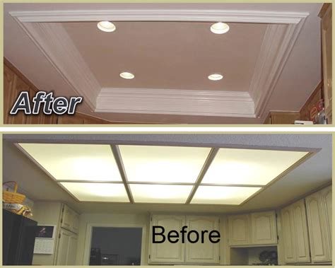 kitchen coffered ceiling giving  kitchen   larger