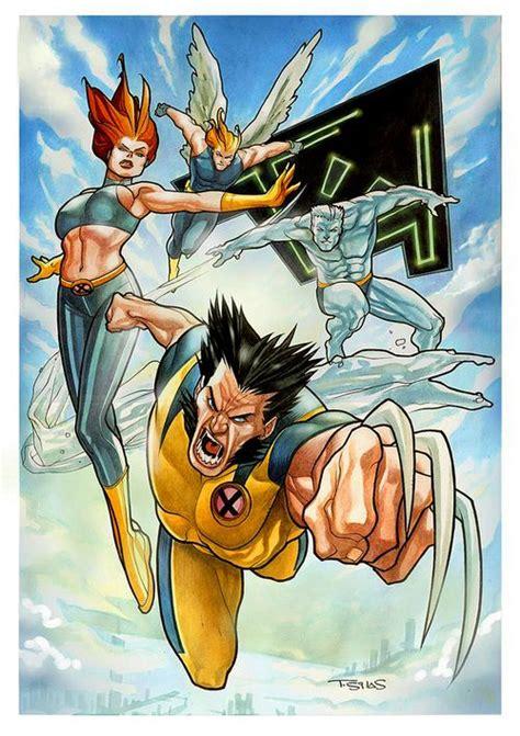 X-Men by Thony Silas   Artistas, Batman beyond, Desenho