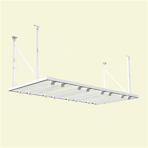 hyloft ceiling storage 60x45 hyloft 96 in w x 48 in d adjustable height garage