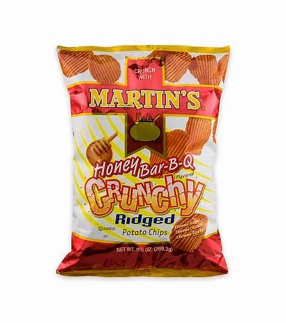 Chips Potato Ridged Crunchy Honey Bar Flavored