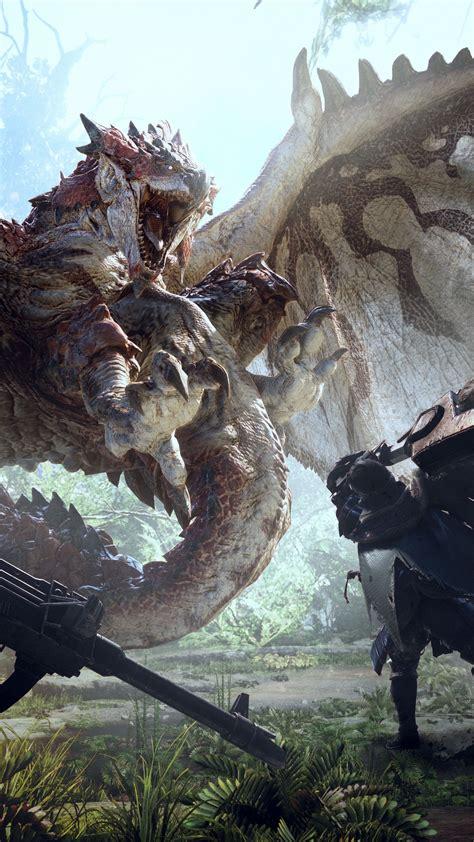 wallpaper monster hunter world     games