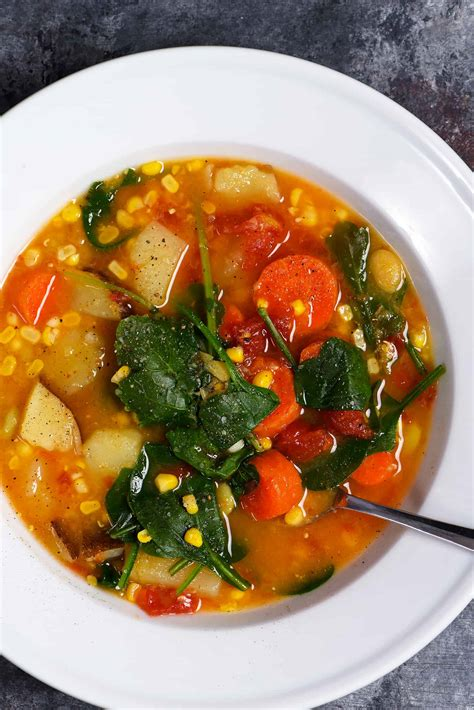 soup recipes vegetarian lentil vegetable soup recipe add a pinch