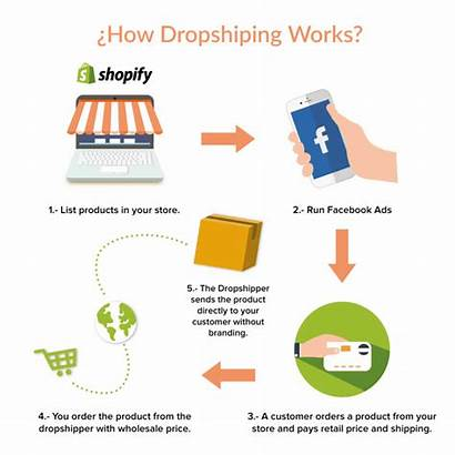 Dropshipping Process Ecommerce Audience Setup Advertising Money