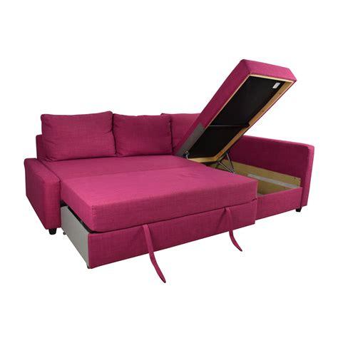 66% Off  Ikea Ikea Friheten Pink Sleeper Sofa Sofas