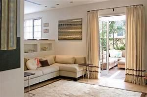 amenagement petite chambre 50 salons de styles differents With tapis chambre bébé avec canapé velours beige