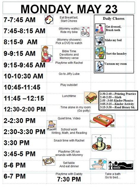 pin  organizing  fun  organized schedules daily