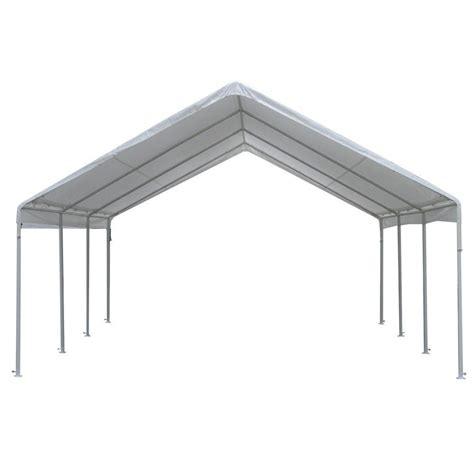 gazebo for cing king canopy hercules 18 ft w x 20 ft d steel frame