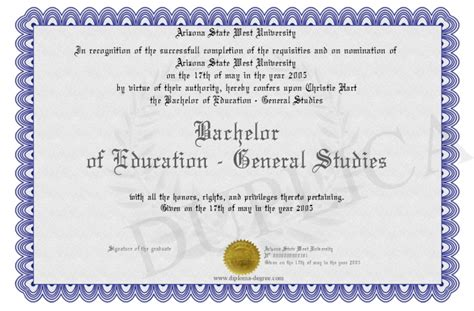 education degree    general education degree