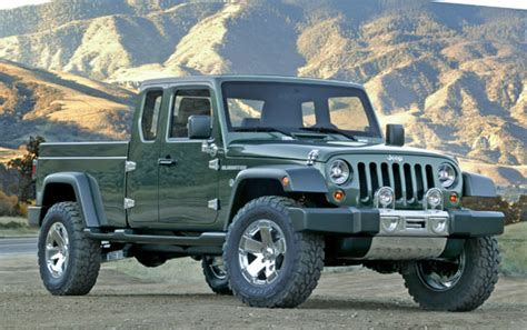 wrangler announcement alludes  possibility   jeep pickup pickuptruckscom news
