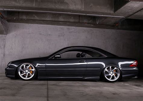 bagged mercedes cl amg