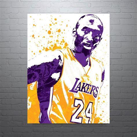 Kobe Bryant Los Angeles Lakers Poster | Kobe bryant, Los ...