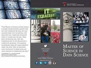 Master of Science in Data Science by Rawls College of ...