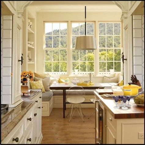 Kitchen Window Seat Ideas by Window Seat Kitchen Area For The Home Indoors