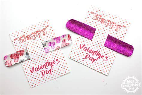 Slap Bracelet Valentine Cards   Skip To My Lou