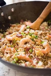 Chinese Fried Rice with Shrimp / Prawns | RecipeTin Eats  Fried