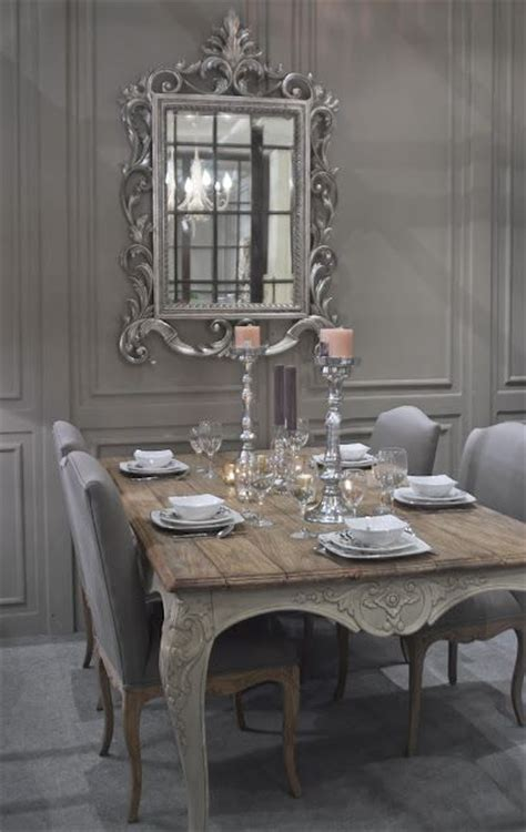 chic grey dining room 26 ways to create a shabby chic dining room or area Shabby
