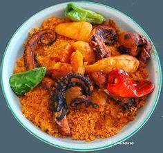 cuisine tunisienne par nabila recette tunisienne spaghettis aux poulpes recettes de cuisine tunisienne
