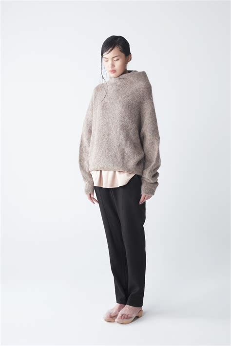 oversized sweater neemic oversized mohair sweater in beige lyst