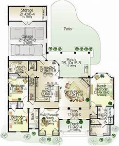 gracie 7647 3 bedrooms and 2 baths the house designers With gracie mansion floor plan