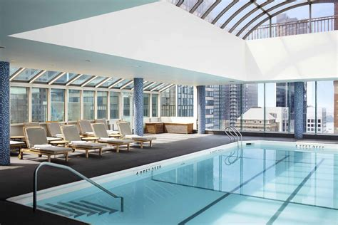 photos of the rooftop pool le meridien hotel ny