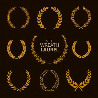 Laurel Guirlande Wreath Premium Achtergrond Laurier Corona