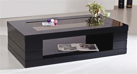 Black Glass Coffee Table Black Narrow Coffee Table