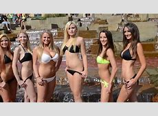 Pennsylvania Bikini Team 2014 Wall Calendar Photo Shoot
