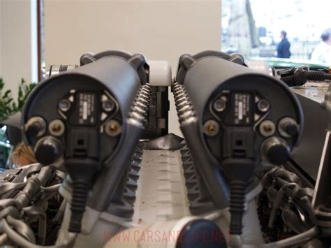 I consider this to be the fastest production car in the world, no matter the couple production car claims of higher speeds. Bugatti Veyron W16 Engine and Gearbox at HR Owen London