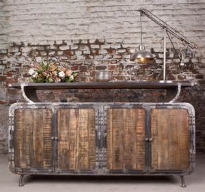 Industrial Furniture - Industrial sideboard with