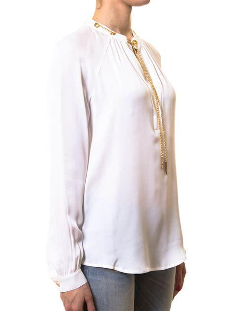 michael kors blouse chain necklace blouse by michael kors blouses ikrix